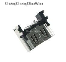 ChengChengDianWan Für PlayStation 4 Display HDMI Buchse Jack Stecker Für PS4 Schlank Pro Konsole HDMI Port 5 teile/los
