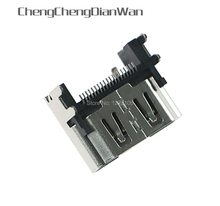ChengChengDianWan Voor PlayStation 4 Display HDMI Socket Jack Connector Voor PS4 Slanke Pro Console Hdmi poort 5 stks/partij