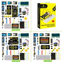 2019 NEW! Keyestudio Basic Starter V2 Kit for Arduino  UNOR3/Mega DIY Projects W/Gift Box