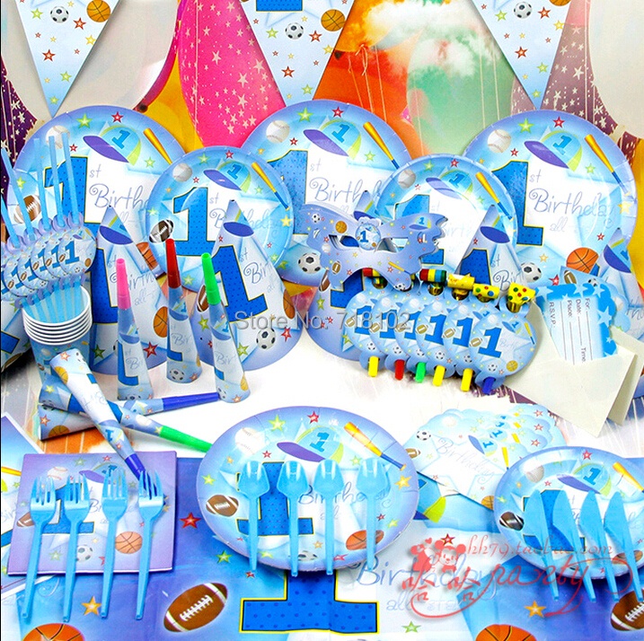 ₩Rosa de la muchacha/muchacho azul 63 unids/lote 1st cumpleaños ...
