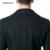 Revestimentos do inverno Dos Homens de Lã Casacos De Lã Casaco Longo Clássico Homens de Negócios Preto Masculino Blusão de Lã Longo Manteau Homme Palto