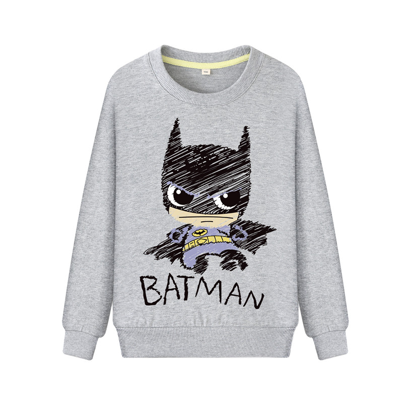 Children Batman Clothes Sweatshirts Boys Costume Hoodie