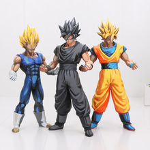 Goku Vegeta Anime Styled Toy Figures (Sold Separately)
