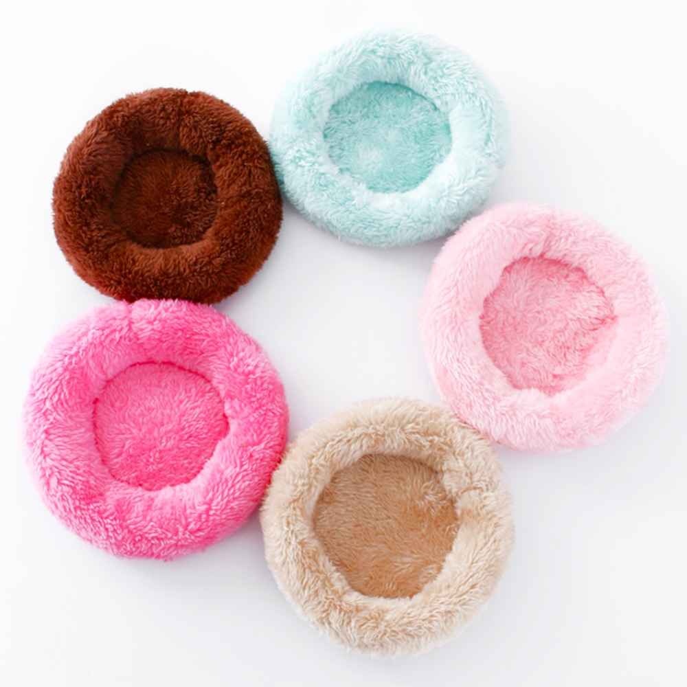 New Small Animal Guinea Hamster Bed House Winter Warm Squirrel Hedgehog Rabbit Chinchilla Bed Mat House Nest Hamster Accessories