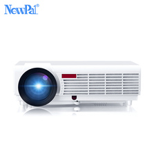 NewPal 5000 Lúmenes Proyector Casero Apoyo 1920*1080 Píxeles de Vídeo Android WIFI 3D Mini Proyector LED Home Business School Proyector