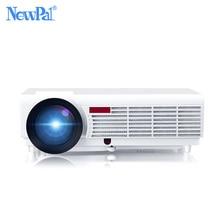 Newpal 5000 люмен домашний проектор Поддержка 1920*1080 Пиксели Видео Android WI-FI 3D мини светодиодный проектор для домашнего Бизнес школы proyector