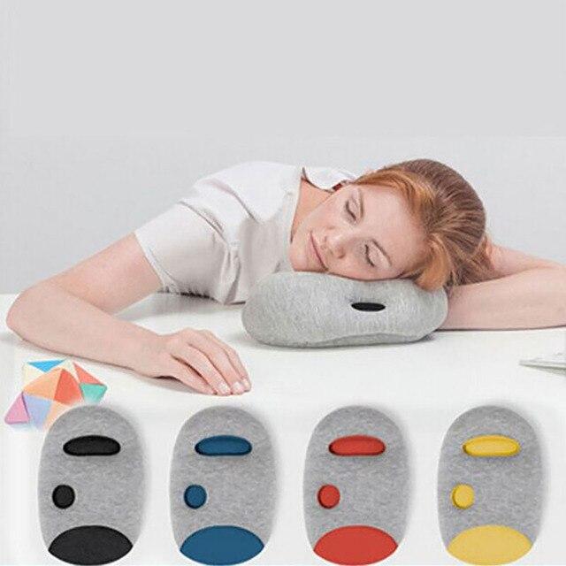 Us 29 0 Ostrich Pillow Mini Comfortable Desk Rest Arm Glove Pillow Flight Travel Cushion Sleep Innovative Office Power Nap Pillow In Bedding Pillows