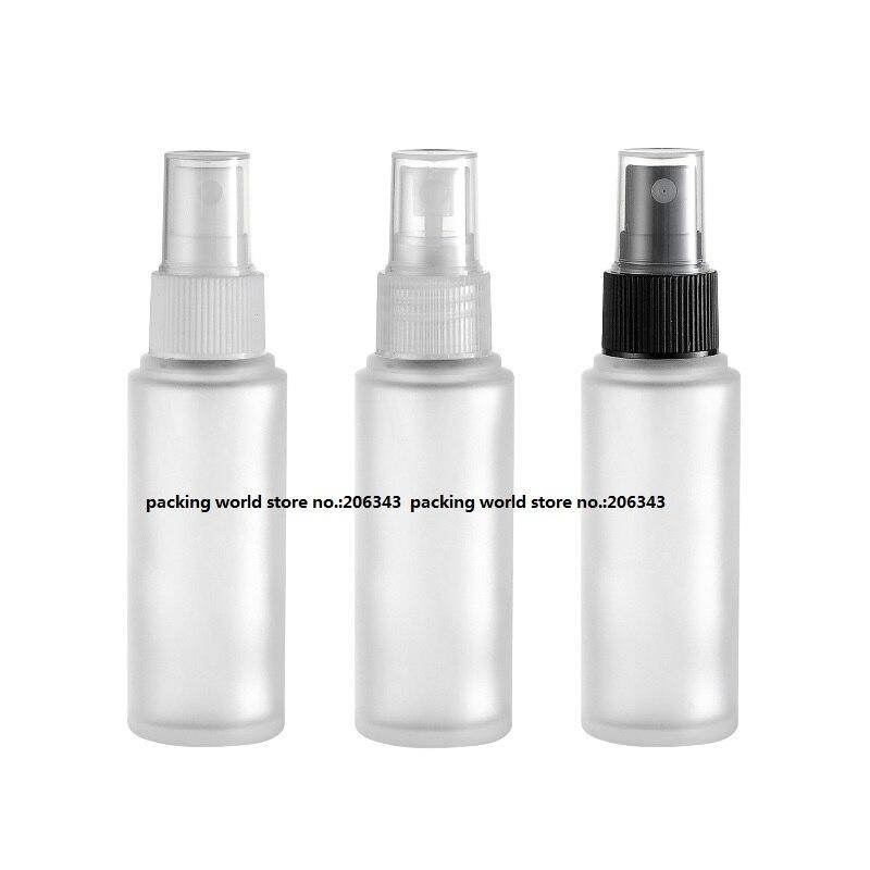 30 мл матовое стекло бутылки с пластиковый насос/распылитель для лосьон/эмульсия/сыворотка/Фонд/тонер /опрыскиватель уход за кожей упаковка