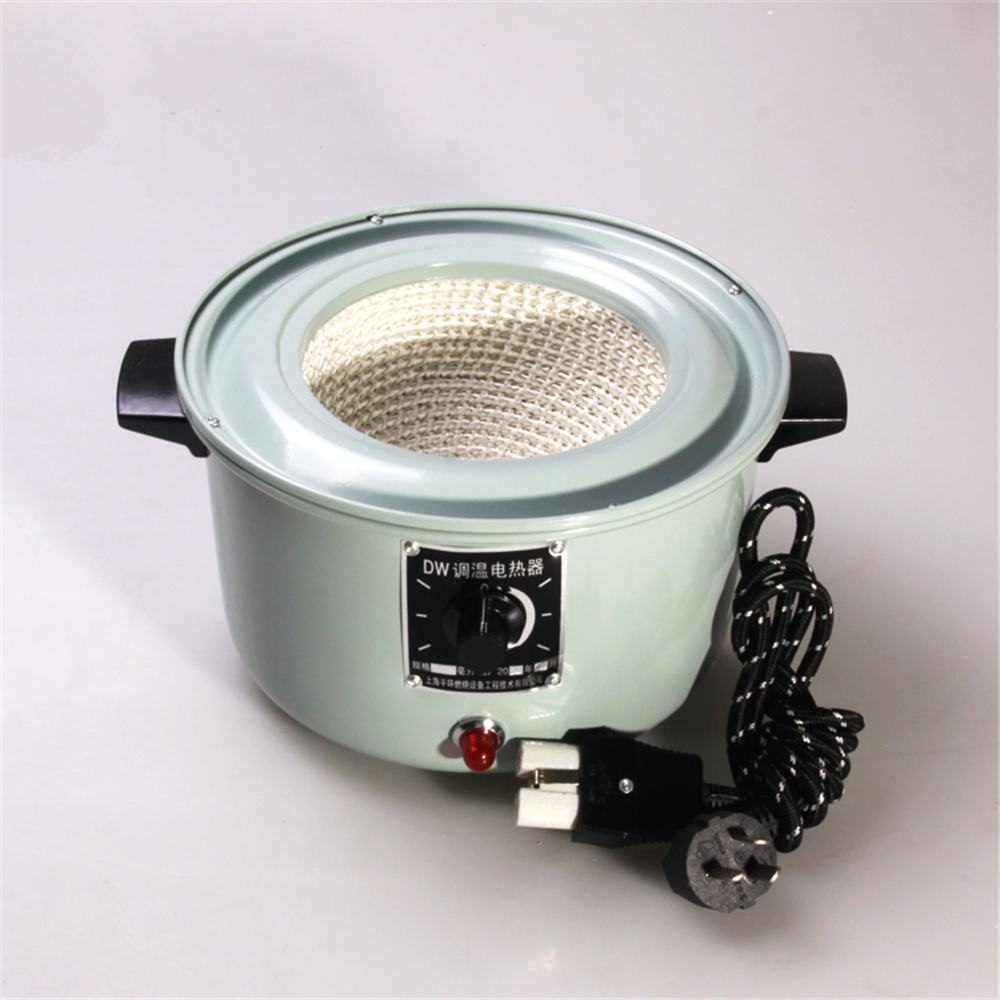 250ml,220V,200W,Electric Heating Mantle,Lab Heater Sleeve,Auminum Case With Thermal Regulator Adjustable Equip