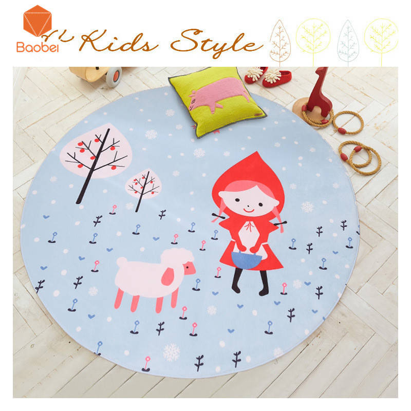 Faithful Beauty Girround Living Room Bedroom Rug Bed Computer Chair Floor Mat Fruit Kids Play Pad Sofa Tapetes Non-slip Yoga Mat Dt79 Be Shrewd In Money Matters Home Textile Carpets & Rugs