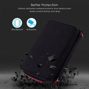 Image 2 - Портативный жесткий EVA Дорожный Чехол для хранения Philips OneBlade Pro триммер аксессуары для бритья чехол на молнии с подкладкой