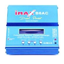 IMAX B6AC Digital AC 80 Вт Lipo NiMH Nicd литиевых Батарея баланс Зарядное устройство Dis Зарядное устройство с ЖК-дисплей Экран Питание ЕС разъем RC