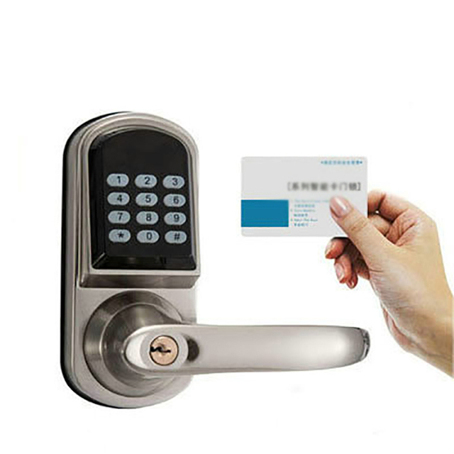 Electronic Password Handle button door lock castle central locking ...
