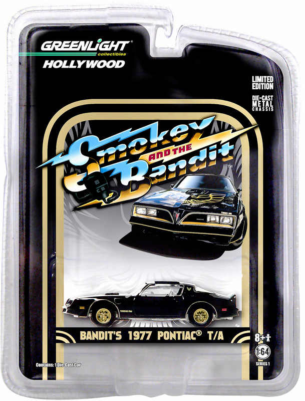 GL 1:64 BANDIT'S 1977 PONTIAC T/A alloy model Car Diecast Metal Toys Birthday Gift For Kids Boy
