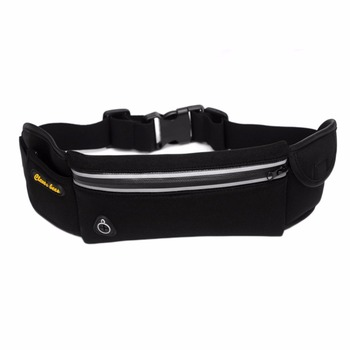 Anti-theft Waist Pack Exercise Chest Waist Bags Waterproof Unisex Earphone Hole Fanny Bag Money Pocket Phone Belt Bags Men Women