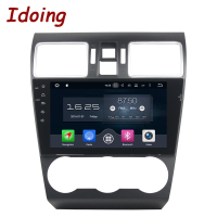 Idoing 9 Android 8 0 Car DVD Player For Subaru WRX 2014 2016 2Din 8Core Steering