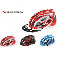 ROBESBON Helmet With Pest Proof Bicycle Helmet Riding The Helmet Mountain Bike