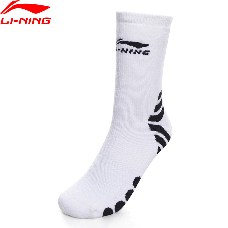 Li-Ning Men Basketball Series Sports Socks 24-26 CM LiNing Comfort Sport Socks AWLP079 NWM453