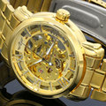Hot 2016 Winner Luxury Brand Luxury Sport Men Automatic Skeleton Mechanical Military Watch Men full Steel Stainless Band reloj