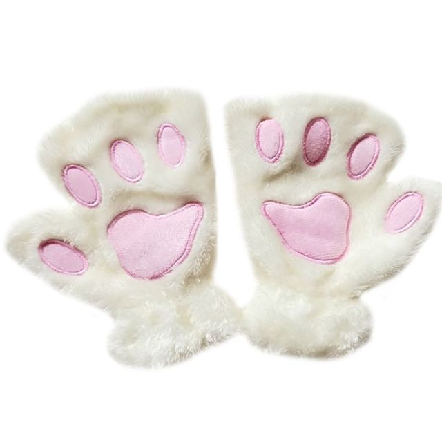 Women Cat Paw Claw Thick...