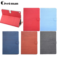 Civetman High Quality Wood Grain PU Leather Case For Apple IPad Pro 10 5 Cover Tablet