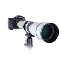 Wholesale prices Telescope 650-1300mm F8.0-16 Ultra Telephoto Manual Zoom Lens  with T2  Adapter Ring for Canon Nikon Sony Olympus Camera DSLR