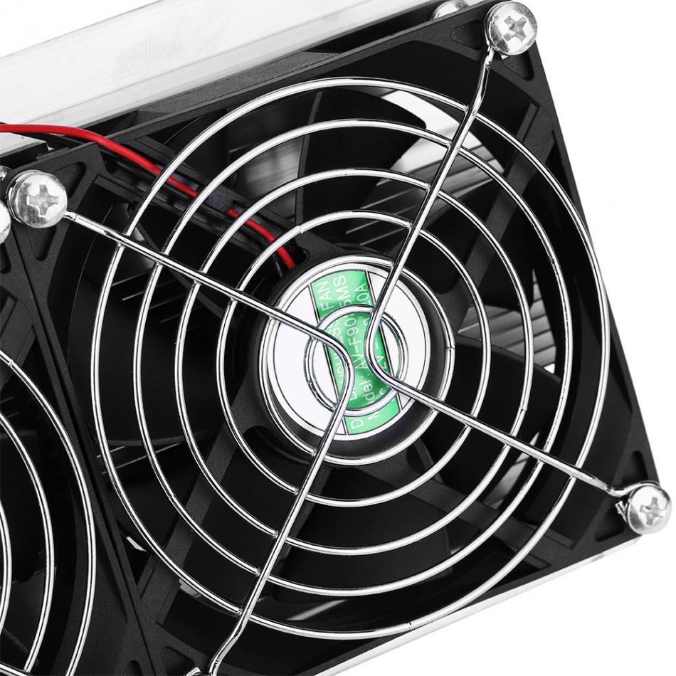 220 В двухъядерный полупроводниковое охлаждение кулер DIY воздушное охлаждение устройство воздушное охлаждение осушение оборудование с