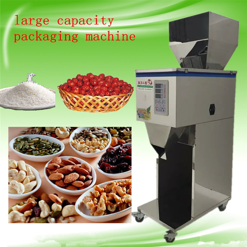 10-999g high-capacity intelligence fillingmachine,autumatic hardware/seed/medicine/patical  packaging machine on sale high quantity medicine detection type blood and marrow test slides