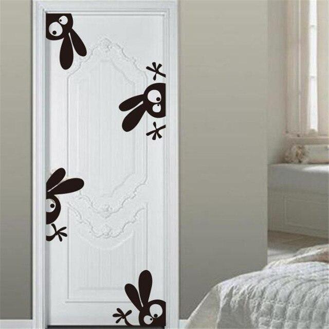 idfiaf kelinci hangat dinding stiker dinding ruang tamu kamar mandi