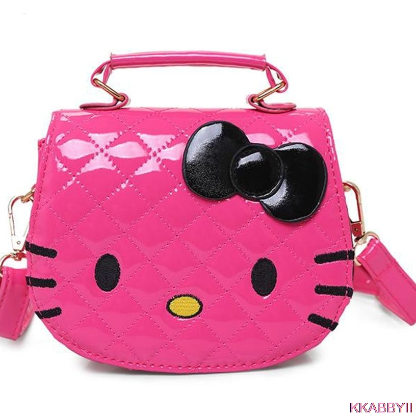 Hot new arrival Hello Kitty girl s princess Sequins bag wallet purse  portable messenger children handbag 388e9f0066eb1