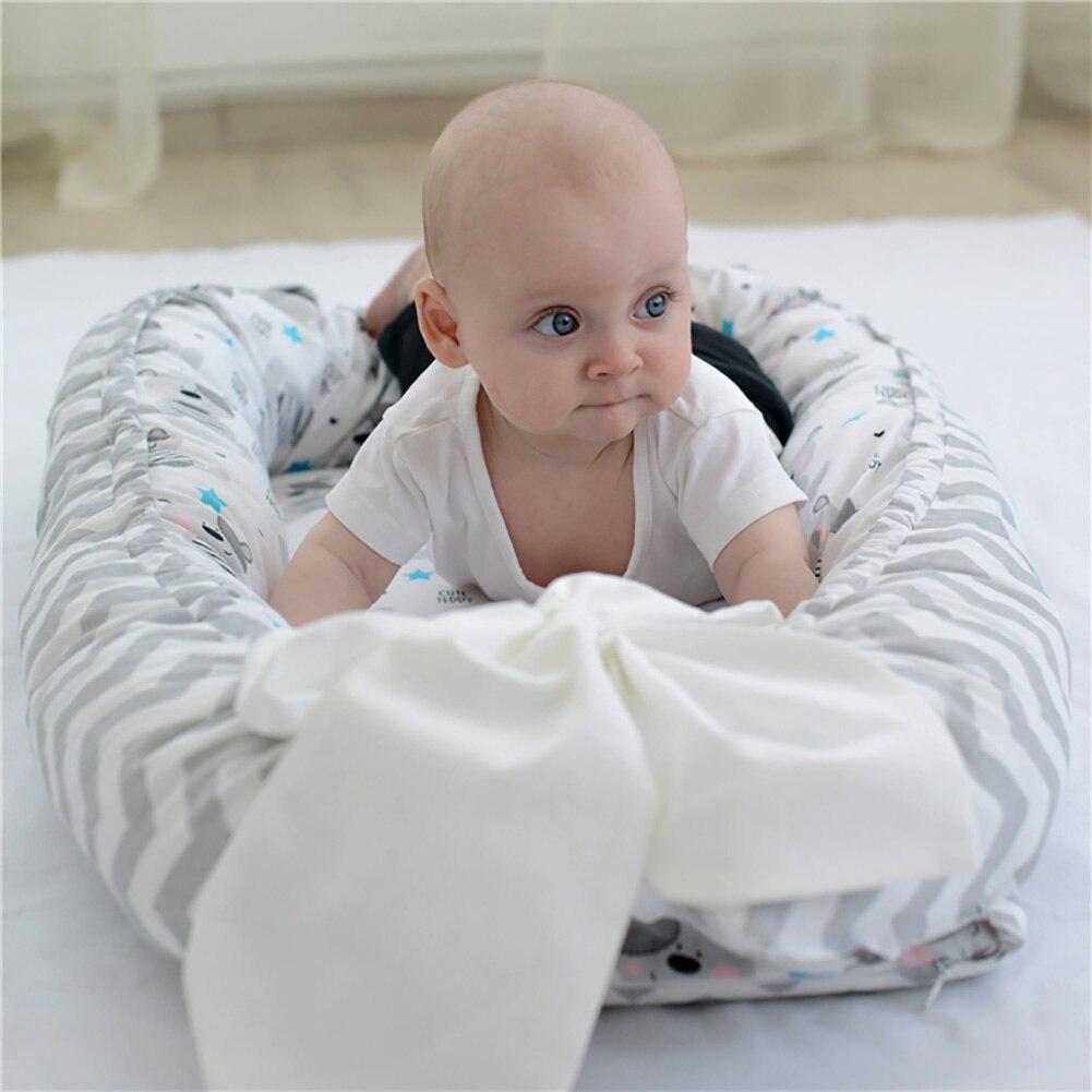 Multifonction bébé nid lit infantile utérin lit bionique Portable lavable lit de voyage lit avec pare-chocs sommeil artefact lit