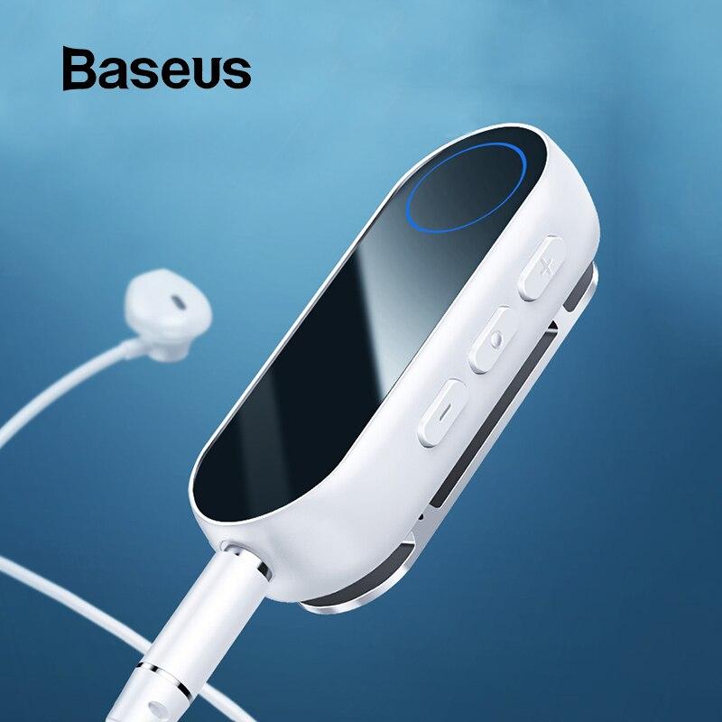 Baseus Bluetooth transmissor Receptor Sem Fio Bluetooth para Fone de Ouvido Fone De Ouvido Speakr 3.5 Aux adaptador De Áudio Bluetooth receptor