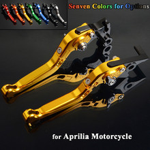 CNC Aluminum Motorbike Levers Motorcycle Brake Clutch Levers Foldable Extendable Adjustable For Aprilia RSV MILLE R 1999-2008 new product motorcycle accessories short brake clutch levers for aprilia rsv milie r 1999 2003 falco sl1000 2000 2004 red