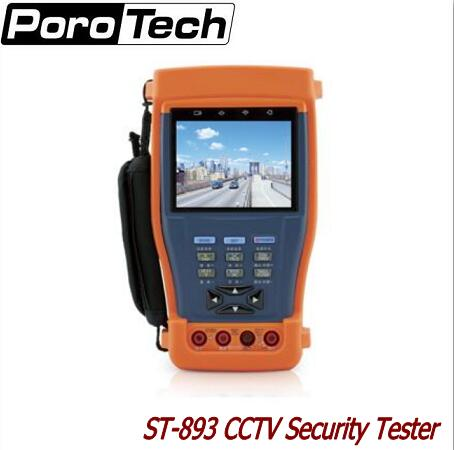 ST893/894/895/896 CCTV Tester Monitor PTZ Audio UTP Test 12V 1A power output/ Optical power meter/Digital Multimeter