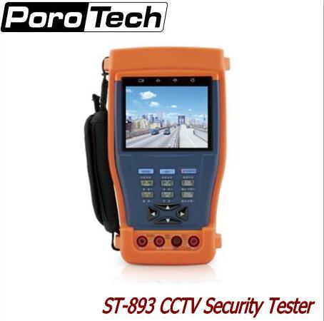 ST893/894/895/896 CCTV Tester Monitor PTZ Audio UTP Test 12V 1A power output/ Optical power meter/Digital Multimeter