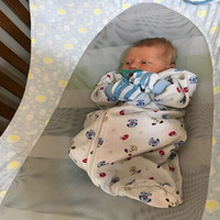 New Portable Baby Crib Hammock Folding Newborn Infant Bed Elastic Detachable Baby Cot Beds Toddler Safe