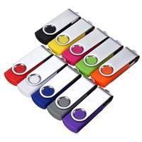 Pendrive 64mb usb 2.0 usb pen drive 64mb pen drives 64mb memória vara plástico mental giratória cores aleatórias por atacado