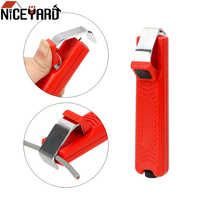 NICEYARD 8-28mm Stripper Knife Mini Electrician Knife PVC Cable Cable Stripping Knife Plastic Handle Adjustable Wire