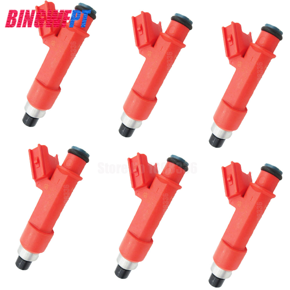 NEW ORIGINAL 6pcs/lot High Quality 850CC Fuel injector/Nozzles for Toyota supra 2JZGTE 1001 87F90 100187F90 1001 87F90-in Fuel Injector from Automobiles & Motorcycles    1