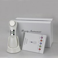 NEW Double Facial RF Radio Frequency No Needle Mesotherapy Photon LED Light Skin Rejuvenation Face Lift Massager Beauty Care
