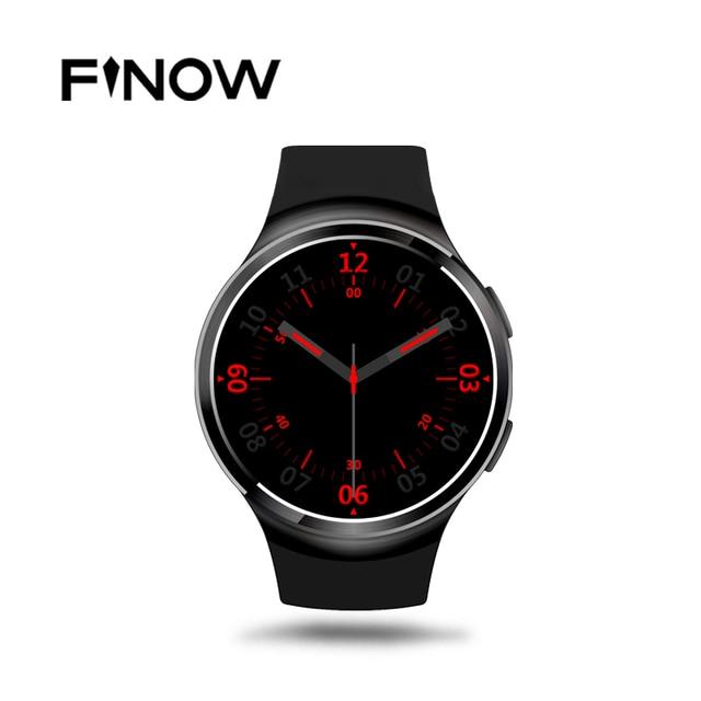 Finow X3 плюс K9 Bluetooth Smart Часы Android 5.1 MTK6580 Quad Core 1 ГБ + 8 ГБ сердечного ритма SmartWatch часы для IOS Android PK KW88