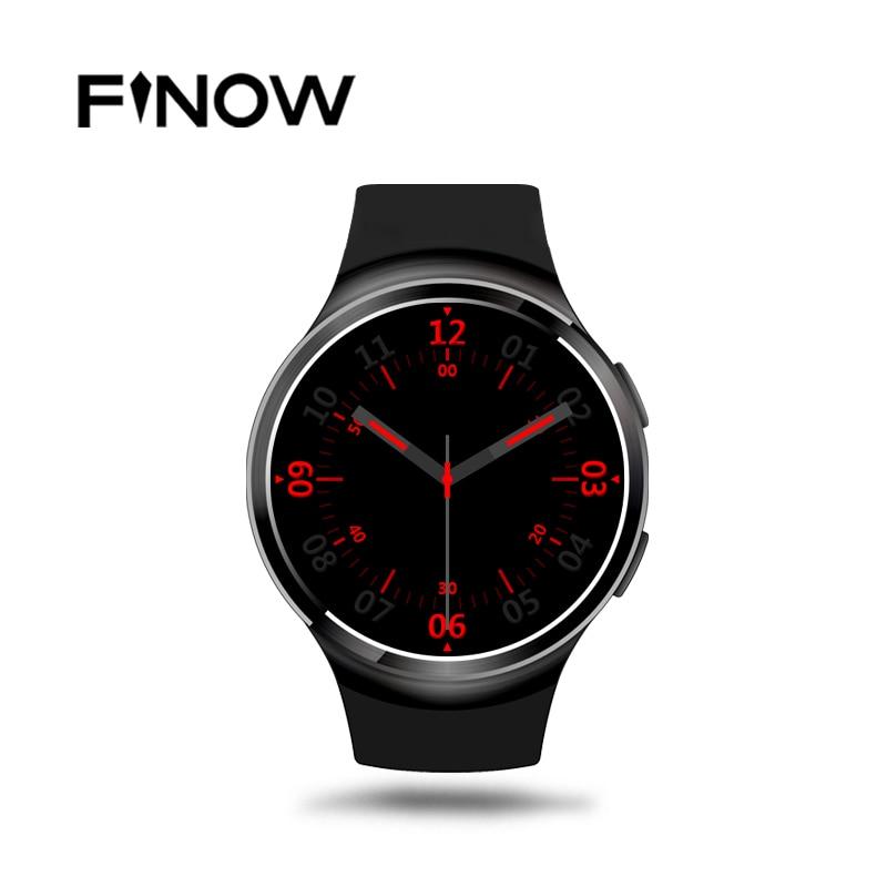 Finow X3 Plus K9 Bluetooth Smart Watch Android 5 1 MTK6580 Quad Core 1GB 8GB Heart