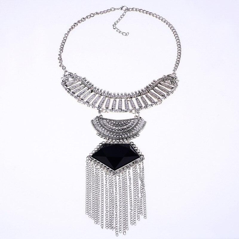 LOVBEAFAS Mode Multi Layer Maxi Halsband Fin smycken Uttalande - Märkessmycken - Foto 6