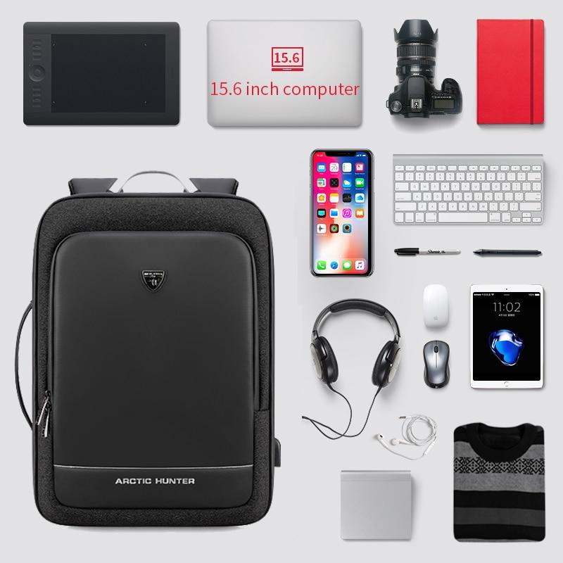 Men Swiss External USB Charging Multifunction Large Capacity Backpack Business Travel 17 Inch Laptop School Bag Mochila Feminina