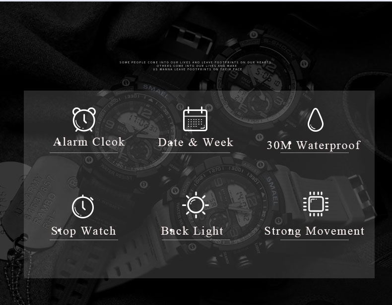 4 sport watch digital