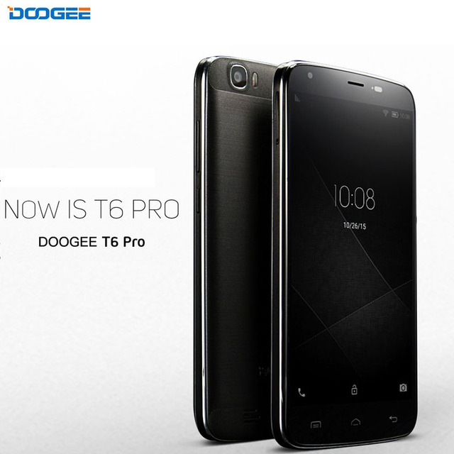 6250mAh 4G DOOGEE T6 Pro RAM 3GB+ROM 32GB 5.5 inch Android 6.0 MTK6753 Octa Core 1.5GHz 13.0MP OTA OTG Cell Phone
