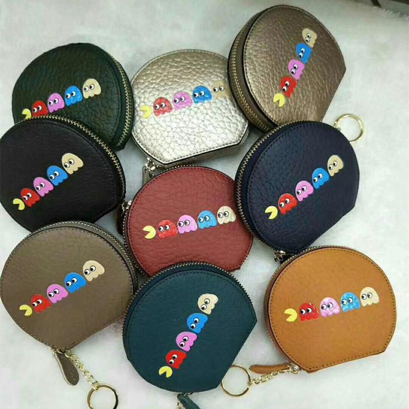 2018 Direct Selling Real Women Short Factory Outlet 9.99 Usd Leather Wallet Cute Mini Zipper Coin Purse Bag Female Hand Hold