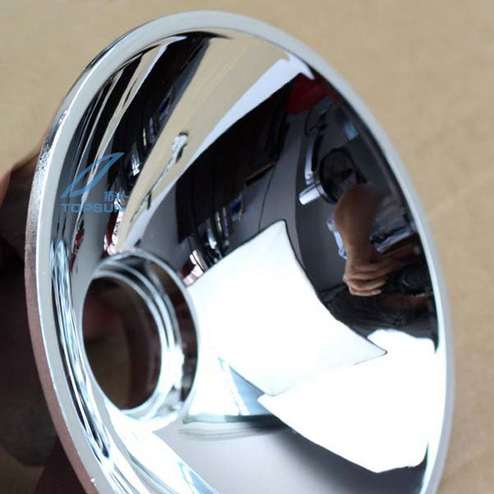 Free shipping! 1 Pair Super Domestic 7 Series The Bowl Beyond For BMW 7 Si Reflective Bowl H7 Interface Metal Materials