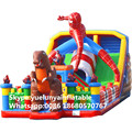 Factory direct inflatable castle slides large obstacles Animal  slide castle combination Entertainment City  KYB-703