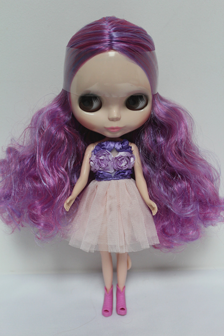 Joint body Nude Blyth Doll green hair Factory doll